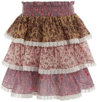 Zimmermann Juniper Tiered Skirt