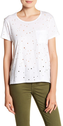 Articles of Society Holly Distressed Short Sleeve Tee $38 thestylecure.com