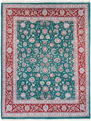 F.J. Kashanian Mashadi Hand-Knotted Wool Rug