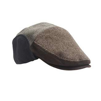 aa9958d071c624 Dockers Ivy Newsboy Hat with Earflaps,Extra Large