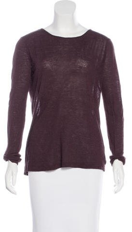 Alexander Wang T by Alexander Wang Cutout-Accented Long Sleeve Top