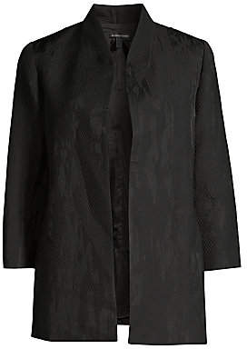 Eileen Fisher Women's Diamond Jacquard Jacket