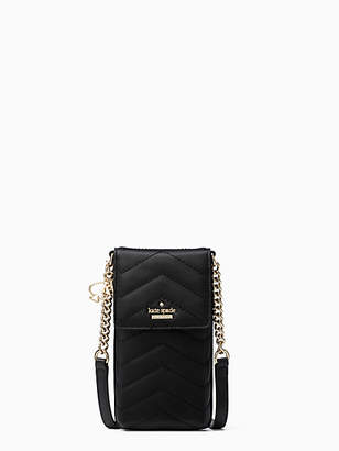 Kate Spade Quilted north south crossbody iPhone case