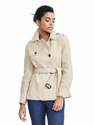 Cropped Trench $158 thestylecure.com
