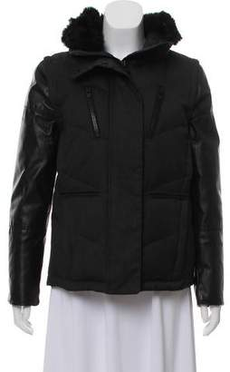 The Kooples Long Sleeve Short Coat