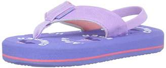Freewaters Girls' Mini Flip Sandal with Supreem Foam Footbed