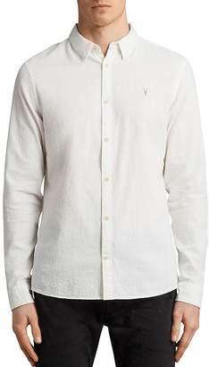 AllSaints Dulwich Regular Fit Button-Down Shirt