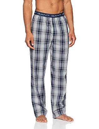 Gant Men's Pajama Pants Check Woven Pyjama Bottoms,(Size: M)