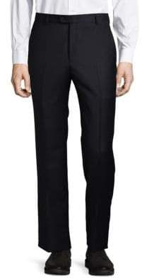 Hickey Freeman Dark Wool Dress Pants