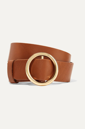 Frame Le Circle Leather Belt - Brown