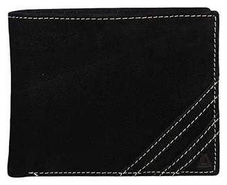 Leather Architect Men's 100% Leather RFID Blocking Bifold Wallet with Removable Card Holder ()