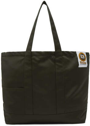 Tiger of Sweden Green Drop S Tote