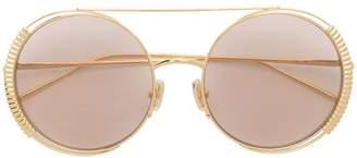 Boucheron (ブシュロン) - Boucheron Eyewear round shaped sunglasses