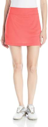 """PGA TOUR Women's 16"""" Solid Knit Skort with Tummy Control"""