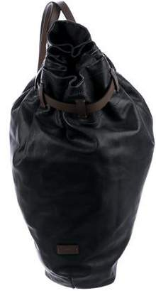 18dabf645f Pre-Owned at TheRealReal · Giorgio Armani Leather Shoulder Backpack