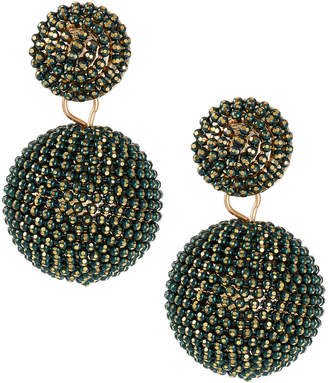 Lydell NYC Seed Bead Drop Earrings
