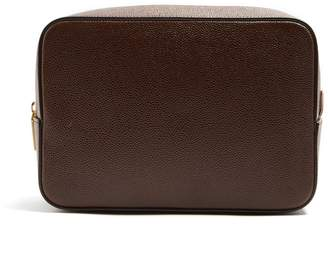 Thom Browne Grained-leather washbag