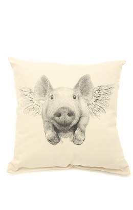 Patricia's Presents Flying Pig Pillow
