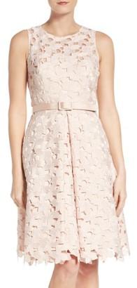 Women's Eliza J Fit & Flare Dress $248 thestylecure.com