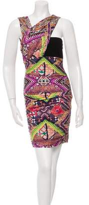 Matthew Williamson Printed Sleeveless Dress
