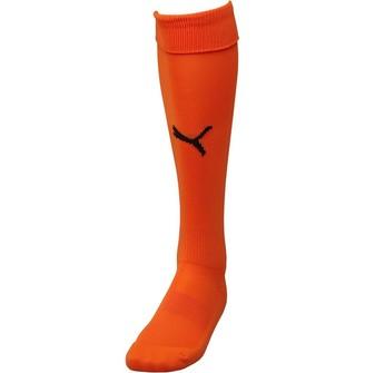 Puma Junior Team II Football Socks Orange/Black