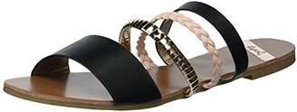 Qupid Women's Slide Flat Sandal
