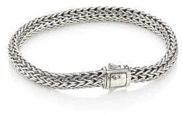 John Hardy Classic Chain Hammered Silver Small Chain Bracelet