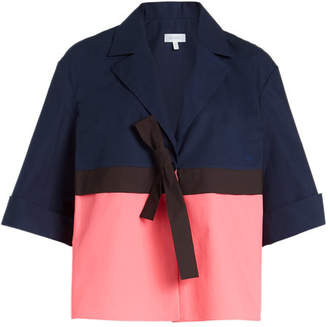 DELPOZO Cotton Jacket