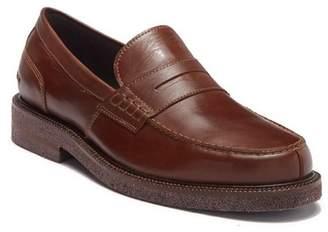 Donald J Pliner Landry Leather Moc Penny Loafer