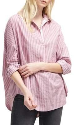 French Connection Bega Oversized Stripe Shirt