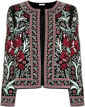 Vilshenko embroidered floral jacket