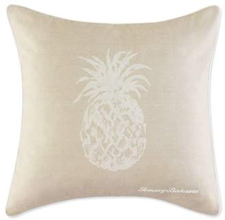 """Tommy Bahama Pineapple Accent Pillow - 20\"""" Square"""