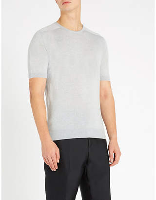 John Smedley Maro wool T-shirt