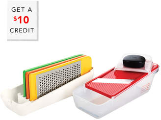 OXO Good Grips Complete Grate & Slice Set With $10 Rue Credit