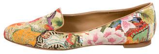 Alexander McQueenAlexander McQueen Floral Patterned Loafers