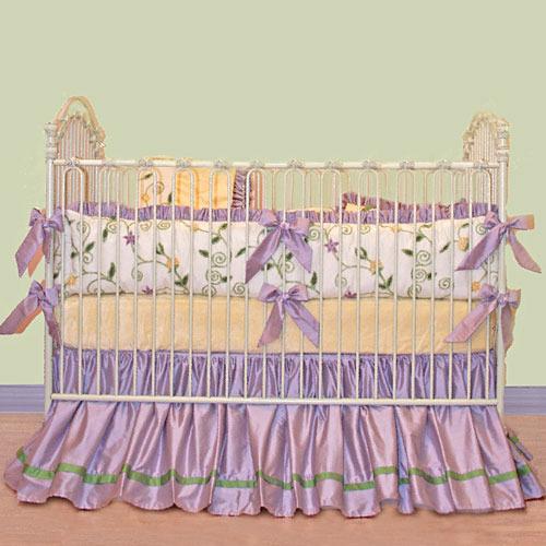 Violet's Garden Baby Bedding