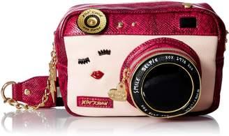 Betsey Johnson Kitsch Camera Crossbody
