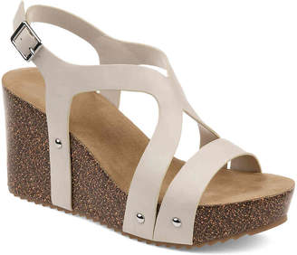 Journee Collection Geneva Wedge Sandal - Women's