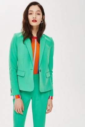 Topshop Tall Single Breasted Suit Jacket