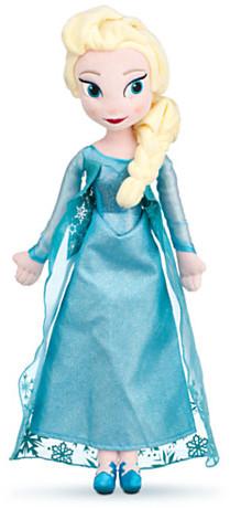 Disney Elsa Plush Doll - Frozen - Medium - 20''