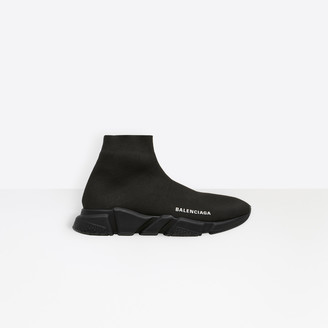 Balenciaga Stretch knit trainers with black textured sole