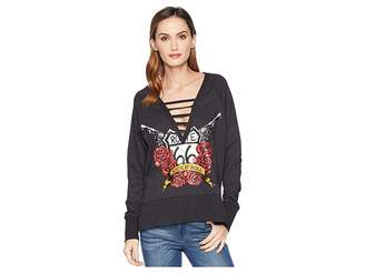 Rock and Roll Cowgirl Long Sleeve Pullover 48T7440