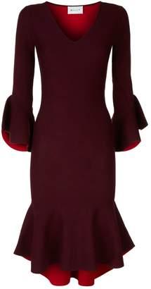 Milly Contrast Mermaid Knit Dress