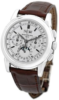 Patek Philippe 5970-G Perpetual Calendar Chronograph 18K White Gold Mens Watch $143,990 thestylecure.com
