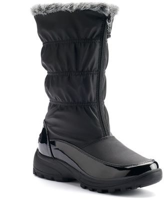 Totes Rachel Women's Front Zipper Waterproof Winter Boots $79.99 thestylecure.com