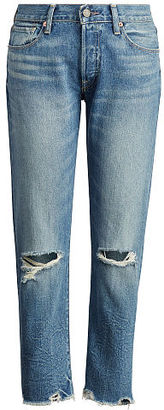 Ralph Lauren Denim & Supply High-Rise Tapered Jean $125 thestylecure.com