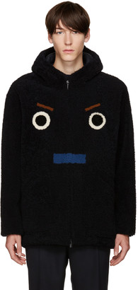 Fendi SSENSE Exclusive Black Shearling Coat $10,500 thestylecure.com