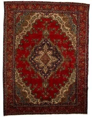 "Wool Persian Rug 10'2"" x 13'1"""