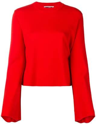 McQ flared sleeve jumper
