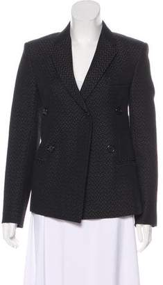 Celine Patterned Structured Blazer